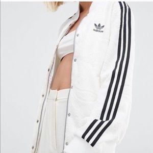 Adidas White Lace Bomber (RARE)